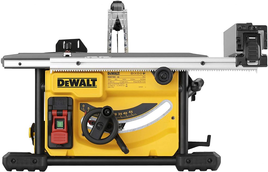 scie sur table Dewalt DWE7485-QS avis